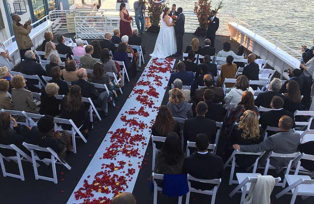Yacht Wedding NYC
