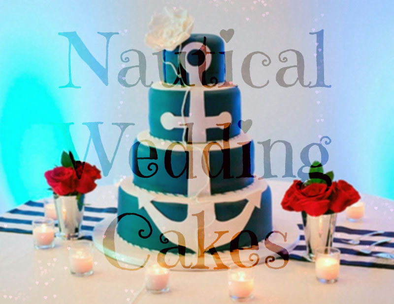 Need Some Nautical Wedding Cake Inspiration?