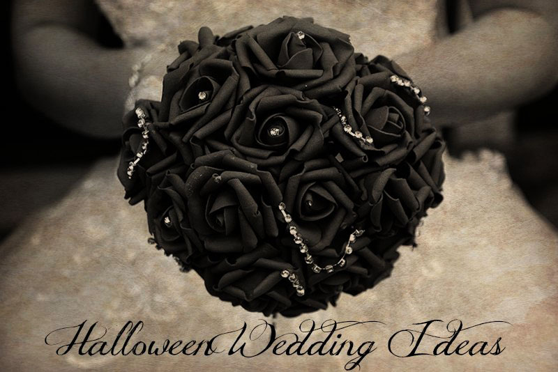Get Spooky with these Fun Halloween Wedding Ideas
